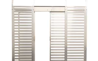 New Sliding Door Feature for Security Fences