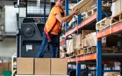 New Age Industrial Revolutionizes The Order Picker Loading Process